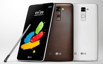 5.7-inch LG Stylus 2 Plus unveiled in Taiwan