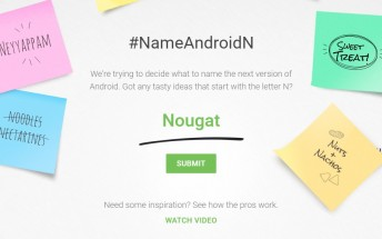 Give Google your Android N name suggestion