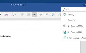 Update brings 'Tell Me' feature to Microsoft Word, Excel, and PowerPoint on Android