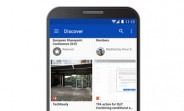 Update brings new 'Discover' view on Onedrive for Android and Web