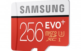 Samsung unveils 256GB microSD card, shipping in June for $249.99