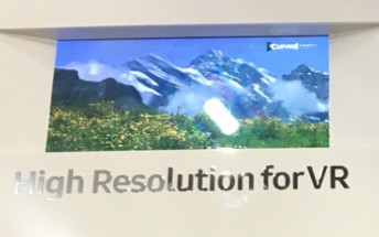 Samsung built a 5.5 inch 4K smartphone screen for VR