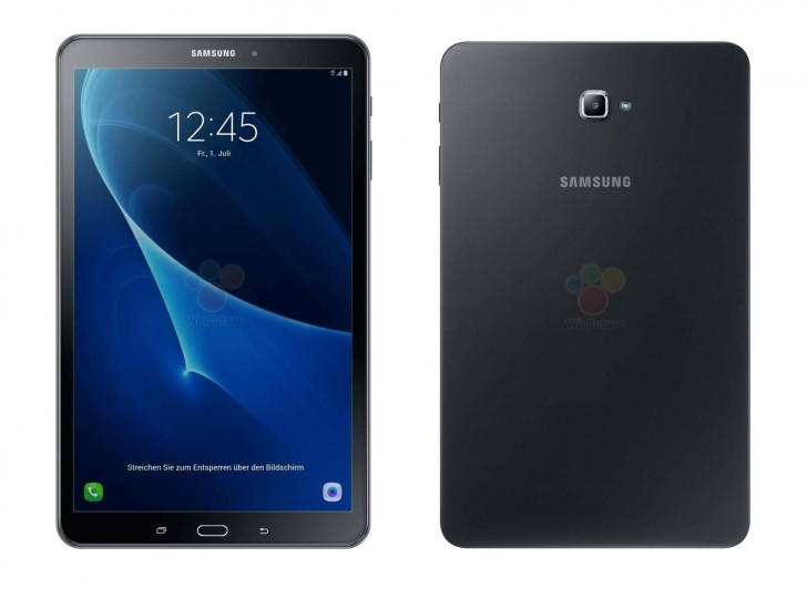samsung galaxy tab a 10 1 2016 gets fully revealed in leaked renders specs outed too. Black Bedroom Furniture Sets. Home Design Ideas