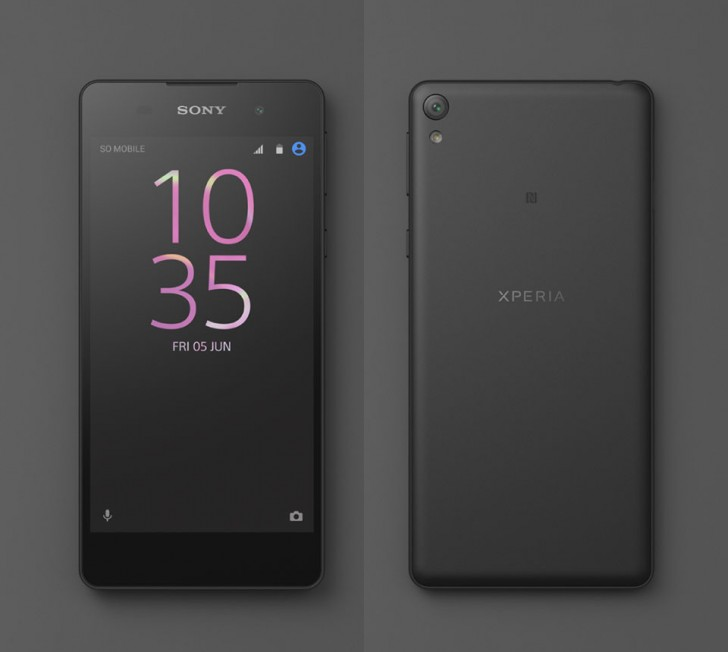 Sony confirms Xperia E5, shows off the device