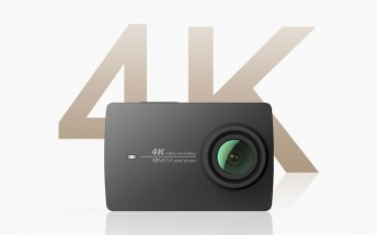 Xiaomi announces YI 4K Action Camera