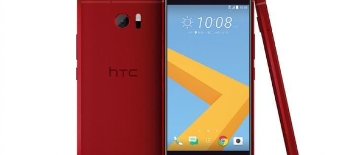 Camellia Red HTC 10