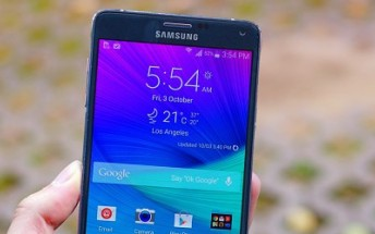 Samsung Galaxy Note 4 starts getting February security update