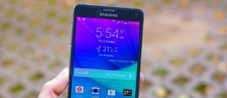 New Verizon Galaxy Note 4 update fixes email issue - GSMArena com news
