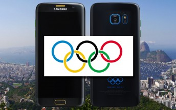 Gaze upon the leaked Samsung Galaxy S7 edge Olympic Edition image