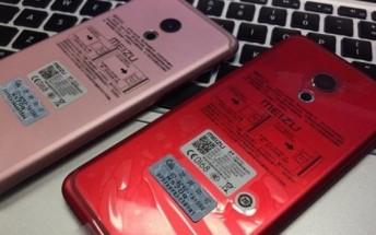 Meizu Pro 6 spotted in fancy red and pink paintjobs