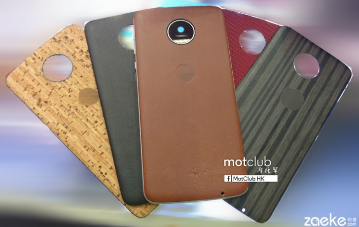 competitive price 06cbc d312d Moto Z backs to add X-like class with leather, wood and more ...