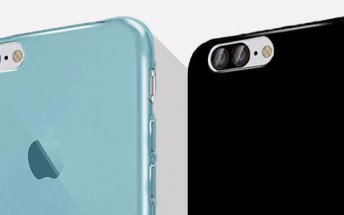 New iPhone 7 and iPhone 7 Plus cases show dual camera and Smart Connector on the bigger model
