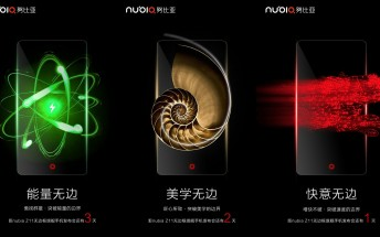 ZTE teases 'borderless' nubia Z11 ahead of tomorrow's unveiling