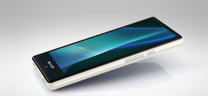 Sharp Aquos Mini is the best mini you can't buy - GSMArena