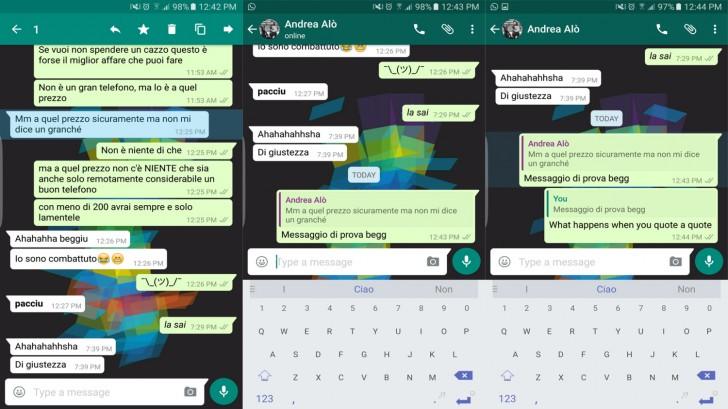 Whatsapp Testing Quote Messages In Replies Gsmarena Blog