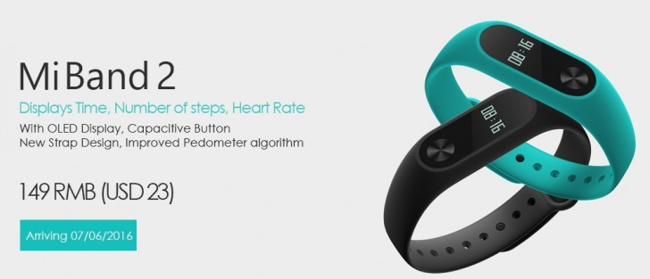 The $23 Xiaomi Mi Band 2 is now official - GSMArena blog