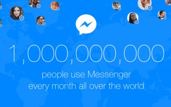Facebook Messenger hits 1 billion monthly users