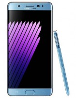Samsung Galaxy Note7 in blue