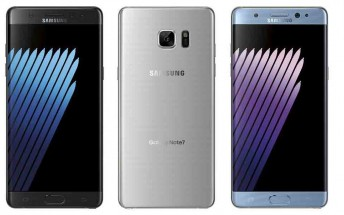 Samsung Galaxy Note 7 renders leaked in three different colors