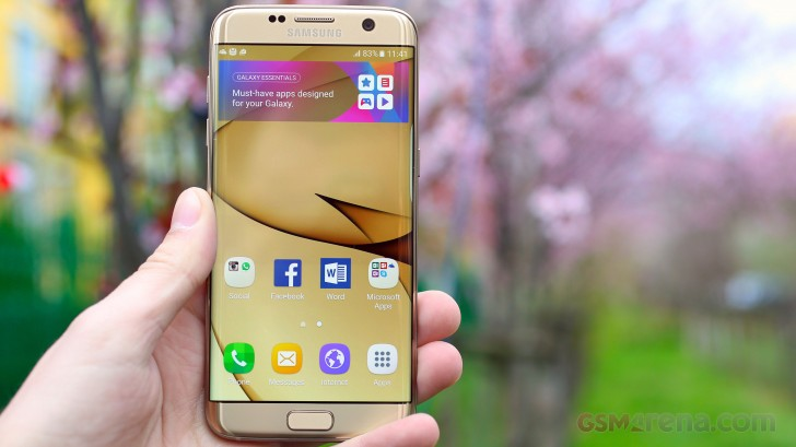 Galaxy S7 edge updated to support Wi-Fi calling on Rogers - GSMArena
