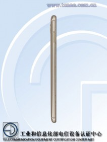 Gionee M6 pictures from TENAA