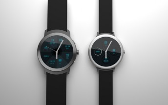 Google's two Android Wear smartwatches now portrayed in renders