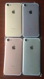 The iPhone 7 color options