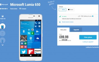 Microsoft Lumia 650 gets another price drop in the UK, now costs £99.99