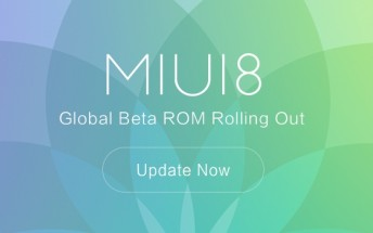 MIUI 8 Global Beta ROM now available for select devices