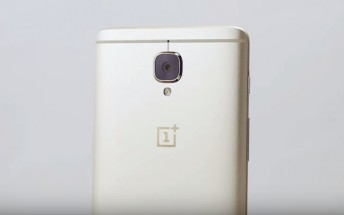 Soft Gold OnePlus 3 finally goes on sale tomorrow