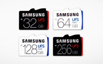 Samsung introduces world's first UFS card line-up
