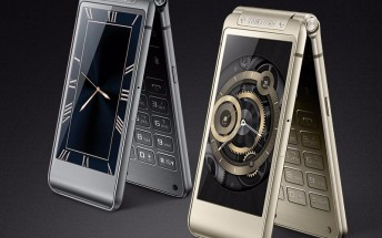 Samsung's high-end clamshell for the year to bump screen size to 4.2