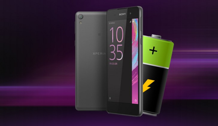 Sony Xperia E5 battery life test