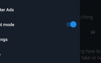 Twitter's Night Mode is now officially available for all on Android