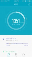 Steps - Xiaomi Mi Band 2 Review