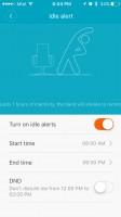 Idle alert - Xiaomi Mi Band 2 Review