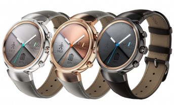Asus breaks up with the square for the Zenwatch 3