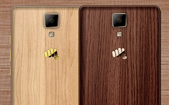 Micromax unveils Canvas 5 Lite special edition phone with wooden finish