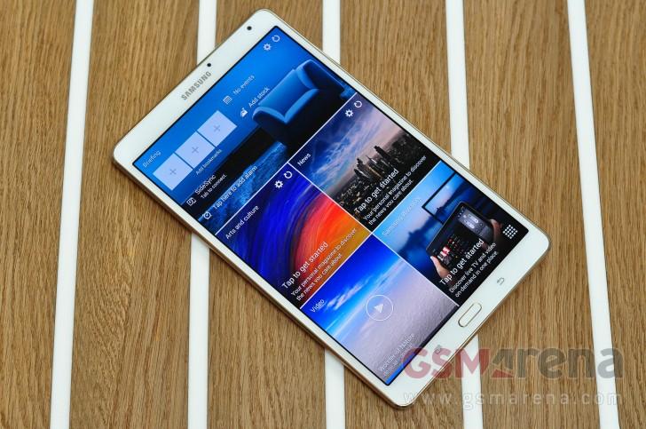 Samsung Galaxy Tab S 8 4 gets Marshmallow update too