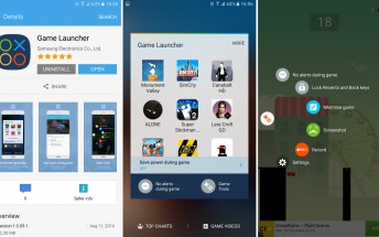 Samsung Game Launcher makes it to the Galaxy S6 and Note5