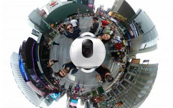 Samsung Gear 360 hands-on: visit New York in VR