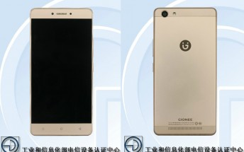 Gionee M6 Mini with 5.3-inch display and 4,000 mAh battery passes TENAA certification
