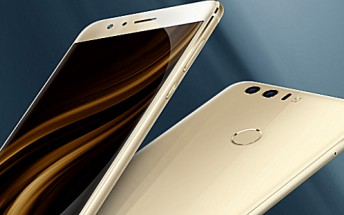 Honor 8 announced for the US [Live Photos]