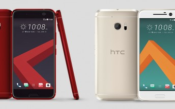 HTC 10 in Camellia Red and Topaz Gold can be pre-ordered for $599