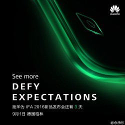 Huawei teasers for IFA event