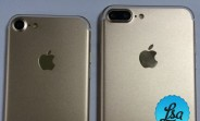 Another set of photos surface with only a pair of iPhone 7 models