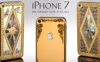 Apple iPhone 7 now on pre-order, but only if you want it in gold