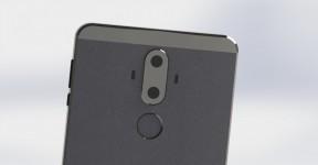 Alleged Huawei Mate 9 renders
