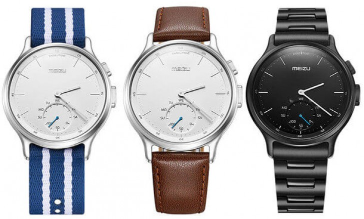 Meizu Mix is company's first smartwatch, it has an analog ...