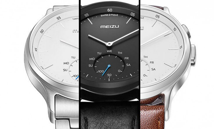 Meizu Mix Is Company S First Smartwatch It Has An Analog